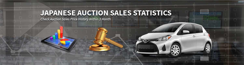 Japanese Auction Sales Statistics