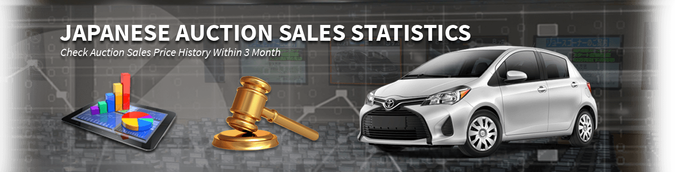 Japanese Auction Sales Statistics